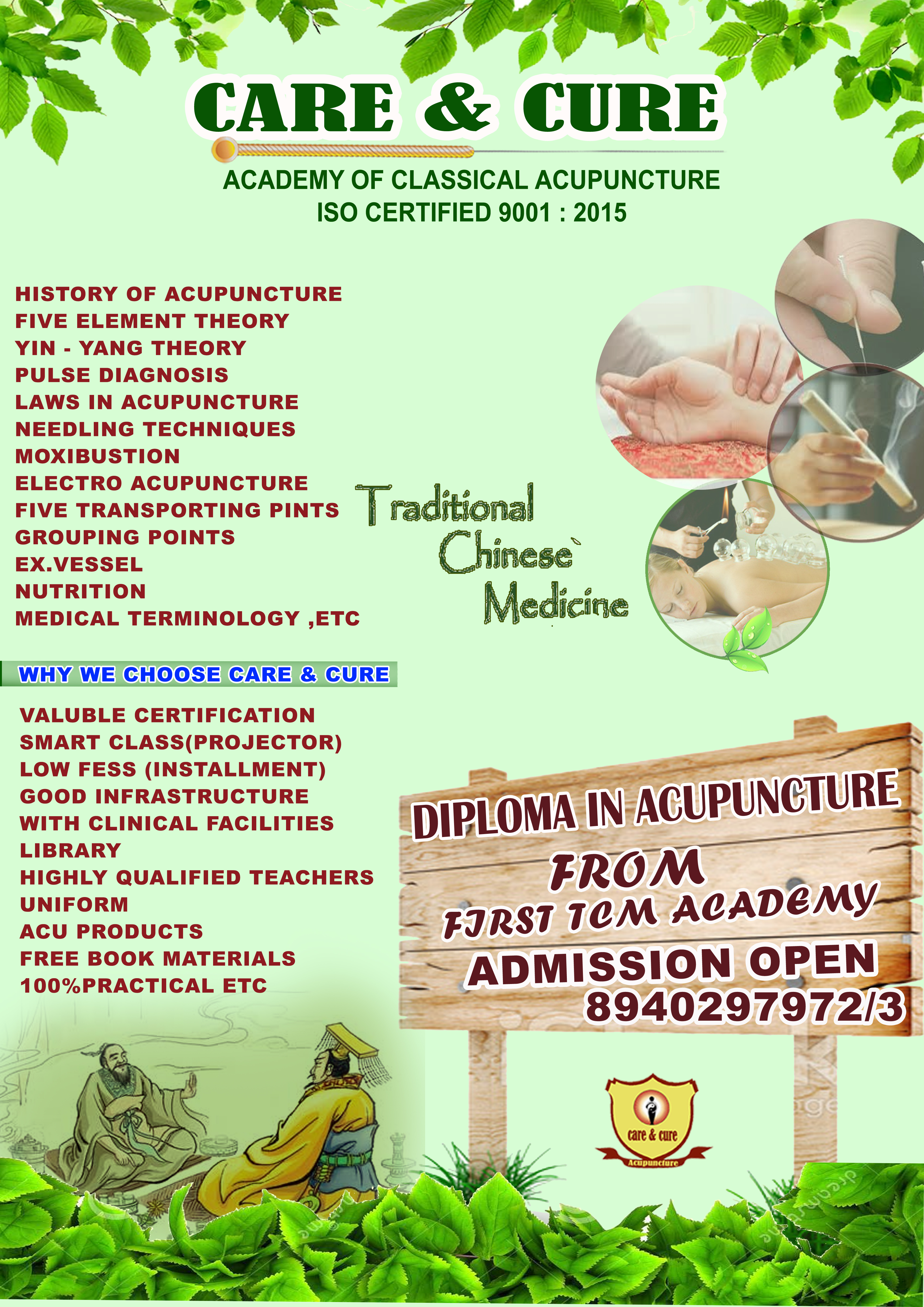 Acupuncture | Acupuncture courses | Academy of Acupuncture